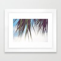 Cabana Life, No. 3 Framed Art Print