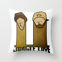 Jay and Silent Bob Strike Back (2001) Throw Pillow