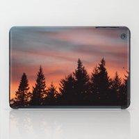 Watercolor Sunset iPad Case