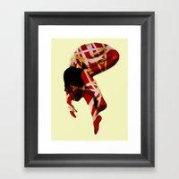 Defeated Framed Art Print