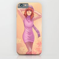 iPhone & iPod Case featuring Autumn by RoPerez