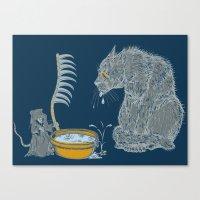 The Rat Reaper Canvas Print