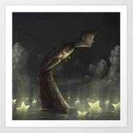 Art Print featuring Requiem For A Dream by Muratturan