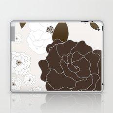 Soft Pastel Floral Print Laptop & iPad Skin