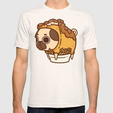Puglie Poutine Mens Fitted Tee Natural SMALL