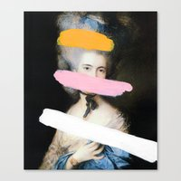 Brutalized Gainsborough … Canvas Print