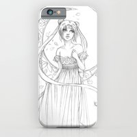 iPhone & iPod Case featuring Sailor Moon-B&W by Shana Marie