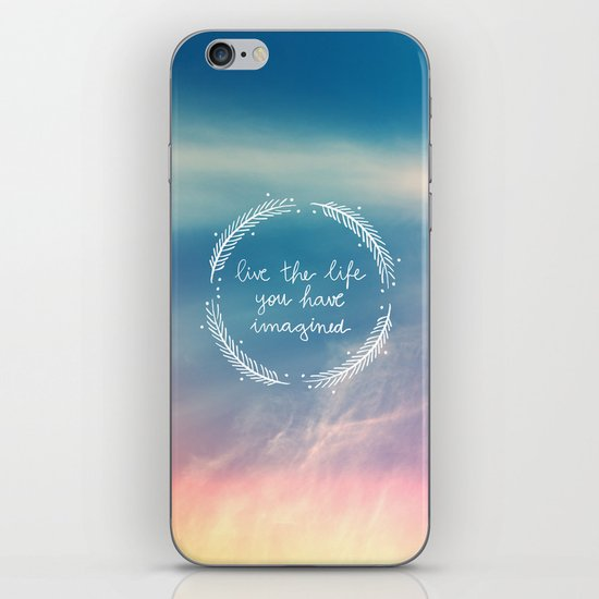 The Life You Have Imagined  iPhone & iPod Skin