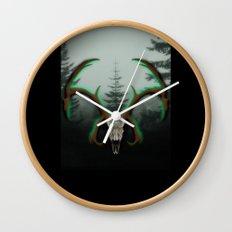 C-1 Horns Wall Clock
