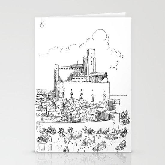 Castle Stationery Card