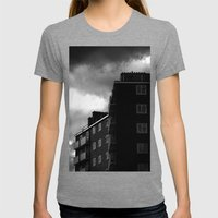 Tottenham Flats Womens Fitted Tee Tri-Grey SMALL