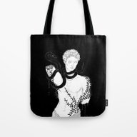 Tote Bag featuring Flesh And Stone (1) by Jenna McCloskey