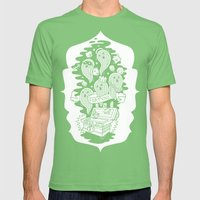 FORTUNA Mens Fitted Tee Grass SMALL