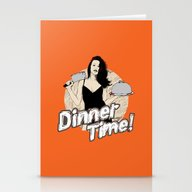 Dinner Time! Stationery Cards
