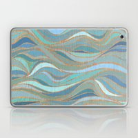 Wave lines 1 Laptop & iPad Skin