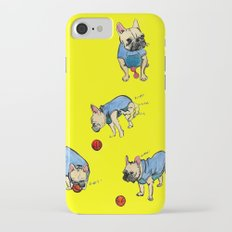 French bulldog playing with a basketball Slim Case iPhone 7