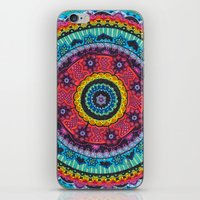 Rainbow Mandala iPhone & iPod Skin