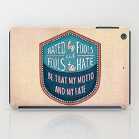 Hated By Fools  iPad Case