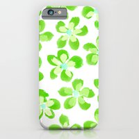 Posey Power - Electric Lime Multi iPhone 6 Slim Case