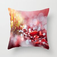 Red For Today Throw Pillow