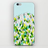Blooming Hills iPhone & iPod Skin
