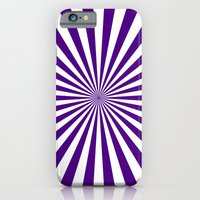 Starburst (Indigo/White) iPhone 6 Slim Case