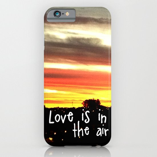 Love is in the air iPhone & iPod Case