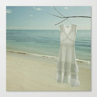 My White Dress. Canvas Print