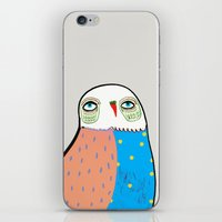 The Owl. iPhone & iPod Skin
