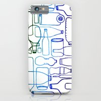 Connected Bottles iPhone 6 Slim Case