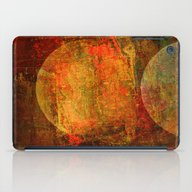 Abstract Moons iPad Case