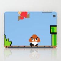 Minion's Last Rites: Mario's Goomba iPad Case
