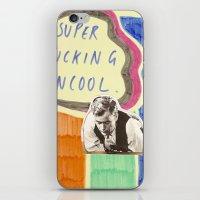 Super Fucking Uncool iPhone & iPod Skin