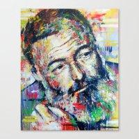 Ernest Hemingway Canvas Print