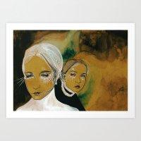 You And I And Us (sen, B… Art Print