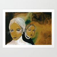 You And I And Us (sen, B… Art Print