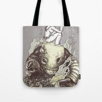 harder they fall Tote Bag