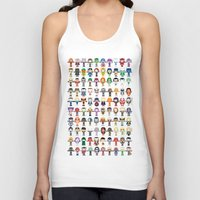 THE ULTIMATE 'AVENGER'S' ROBOTIC COLLECTION Unisex Tank Top