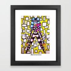 Flame Thrower Framed Art Print