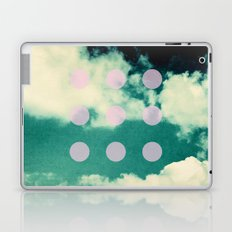 Clouds + Dots Laptop & iPad Skin