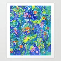 Undersea World Art Print