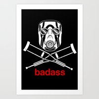 Badass - The Video Game Art Print