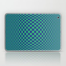 Green and Blue - Geometric game Laptop & iPad Skin