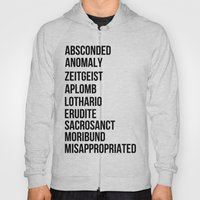 Zachary Quinto and Chris Pine want to enrich YOUR vocabulary. Hoody