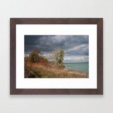 At the Lake Framed Art Print