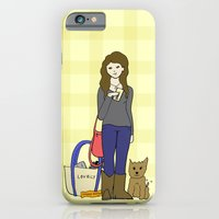 iPhone & iPod Case featuring uteruses before duderuses, leslie knope- parks and recreation  by Illustrated by Jenny