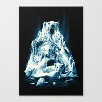 Melting Icebears Canvas Print