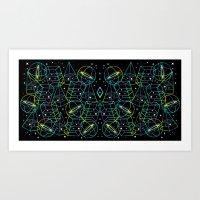 Hidden Galaxies Art Print