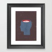clockhead... Framed Art Print