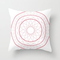 Anime Magic Circle 5 Throw Pillow